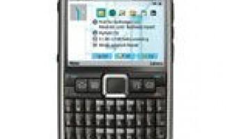 Nokia e71 cмартфон
