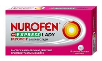 Нурофен експрес леді