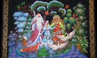 """Образи казки """"снігуронька"""" в образотворчому мистецтві, літературі, фольклорі"""