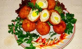 Перепелині яйця по-фритюрі