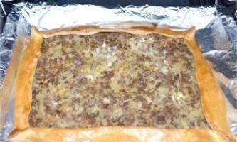 Пиріг м`ясо-капустяний