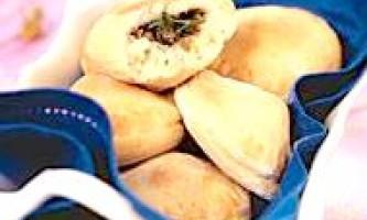 Пиріжки з начинкою з серця індички