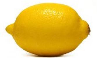 Харчова цінність лимона