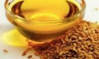 Корисні властивості лляної олії