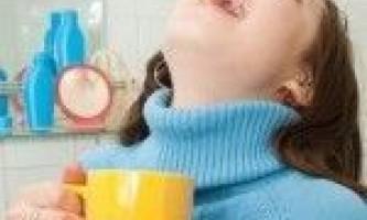 Полоскання горла содою, сіллю і йодом: пропорції