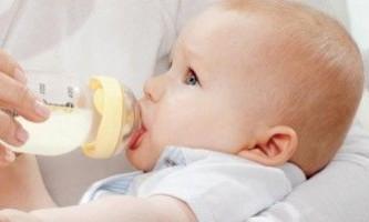 Правила введення суміші у дітей з алергією
