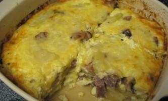 Приготування картопляної бабки: білоруська кухня
