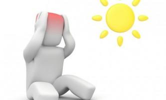 Ознаки сонячного і теплового удару