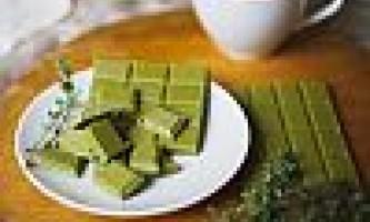 Пробуємо шоколад із зеленим чаєм - що це таке і чим їдять?