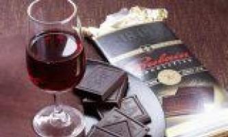 Проти раку червоне вино і шоколад