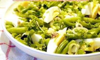Прованський квасолевий салат - рецепт