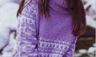 Пуловер з рукавами реглан та візерунком зі знятими петлями