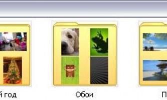 Розкладаємо фотографії в iphone по папках