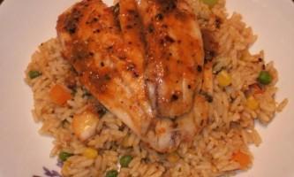 Рис з рибою в мультиварці - смачне і легке блюдо
