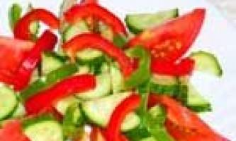 Салат річний рецепт
