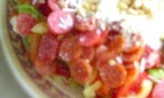 Салат піколіни - рецепт