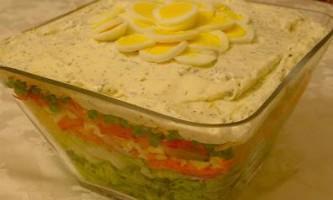 Салат листковий з ананасами і курятиною: добірка рецептів