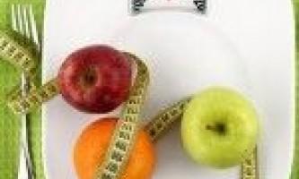 Збалансоване харчування для схуднення