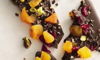 Шоколадно-фруктова плитка