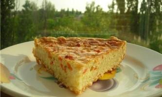 Як приготувати пиріг з сирно-цибулевий начинкою