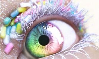 Як у фотошопі зробити яскраві очі