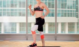 Степ-аеробіка для ніг, сідниць і м`язів кора