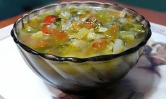Суп для бажаючих схуднути