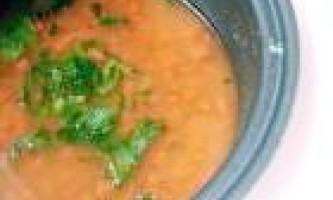 Суп гороховий в мультиварці