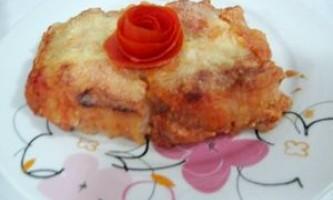 Ситний м`ясний пиріг з картоплею і сиром - рецепт