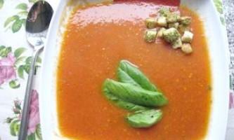 Томатний суп як варіант - рецепт