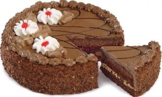 Торт кавово-шоколадний