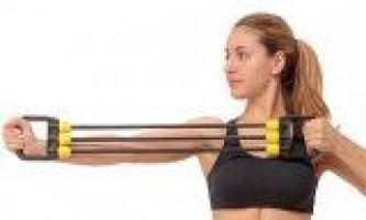 Вправи для м`язів з еспандером