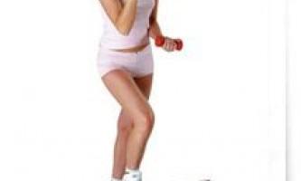 Вправи степ аеробіки в домашніх умовах