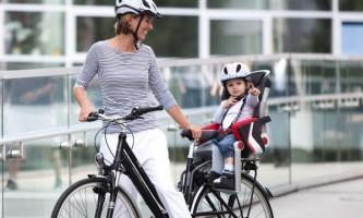Велосипедне дитяче крісло: критерії вибору