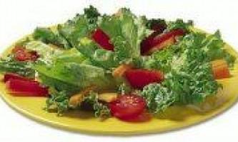 Смачні та корисні для здоров`я салати