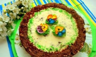 Смачний горіховий торт