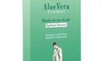 Yves rocher aloe vera essentiel стрічковий віск для ніжної епіляції